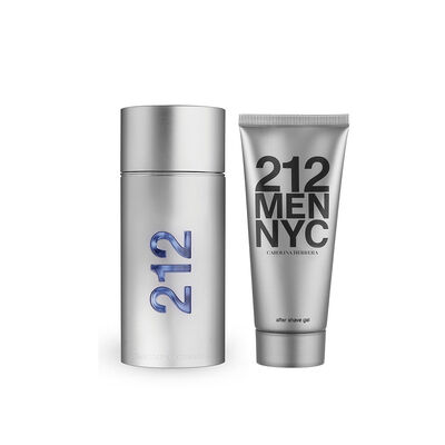 Estuche 212 Men (EDT 100ml + Shower Gel 100ml)