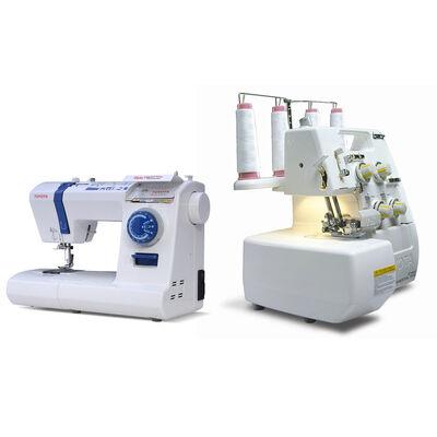Máquina de Coser Overlock + Máquina de Coser Quiltmaster