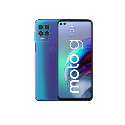 "Celular Motorola Moto G100 128GB 6,7"" Verde Boreal Liberado"