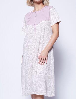 Camisa de Dormir de Algodón Mujer Intime