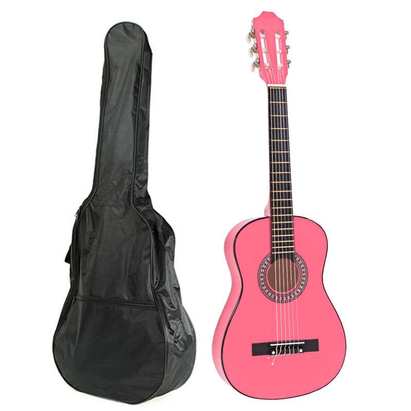 Guitarra Clásica Alaguez AZ-G38PB 38''+ Bolso