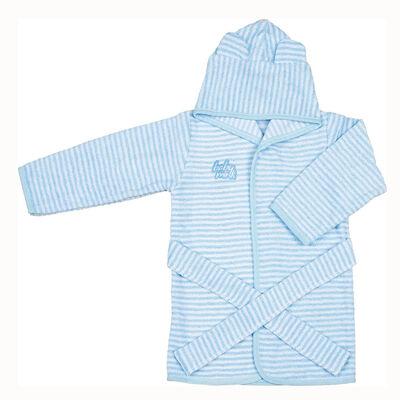 Bata de Baño Azul Baby Mink