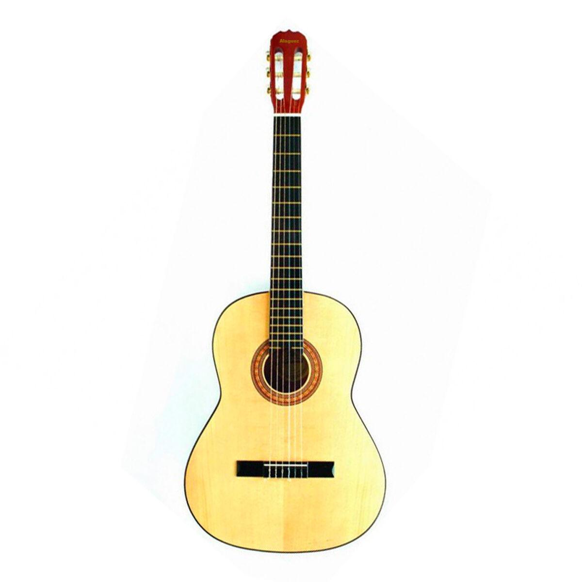 Guitarra Clásica Natural 39P Alaguez AZ-39N