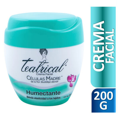 Teatrical Crema Facial Humectante 200gr