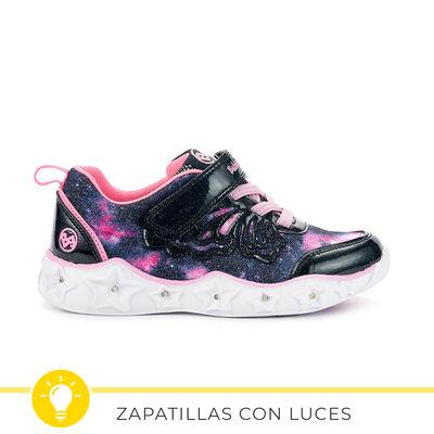 Zapatilla Con Luces Niña Bubble Gummers