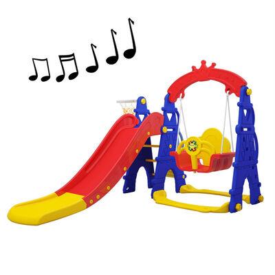 Resbalín Columpio Musical Colores