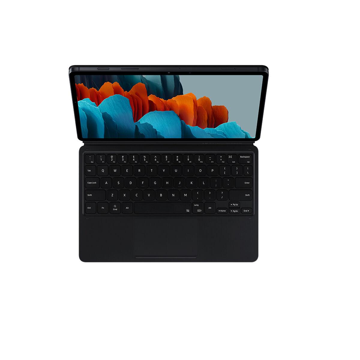 "Tablet Samsung SM-T870 Galaxy Tab S7 6GB 128GB 11"" Wifi Mystic Black + Keyboard + Cover + S-Pen"