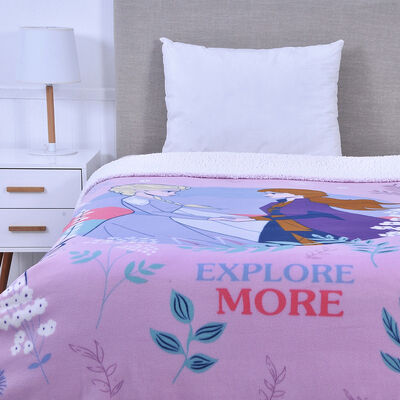 Frazada Polar Sherpa Disney Frozen 150 x 200 cm