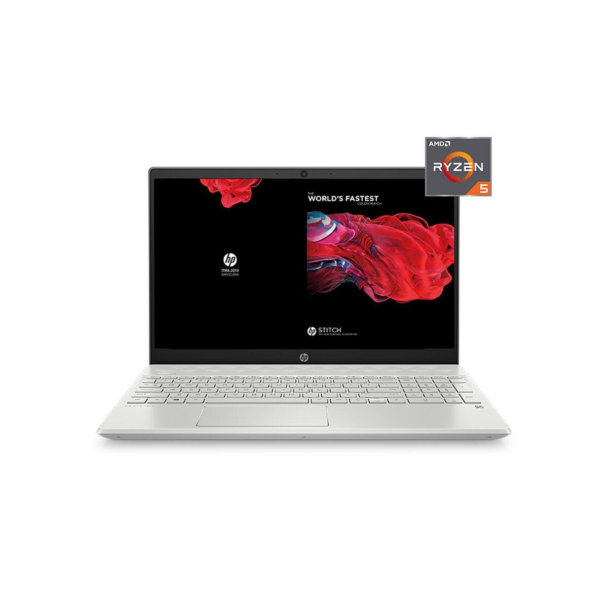 "Notebook HP 15-cw1020 Ryzen 5 8GB 256GB SSD 15.6"""