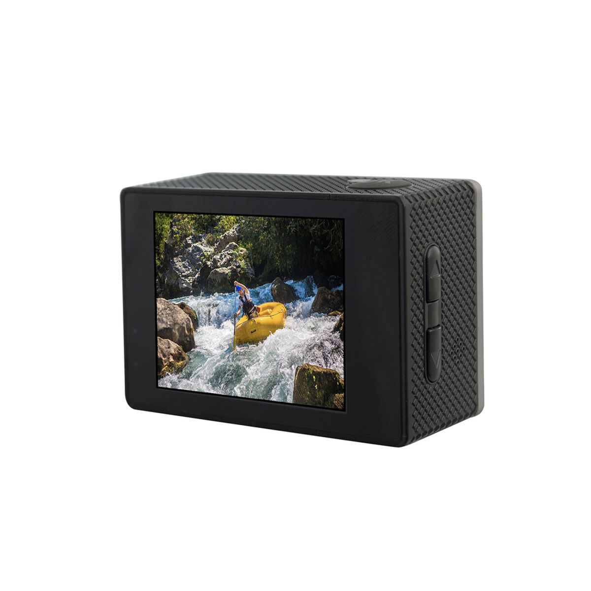 Cámara Deportiva Microlab iSport Pro Cam HD Amarilla + Batería Externa Portátil