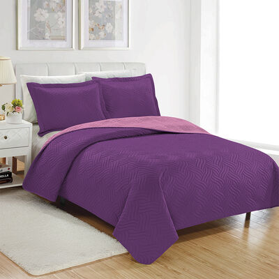 Quilt Liso 2 Plazas