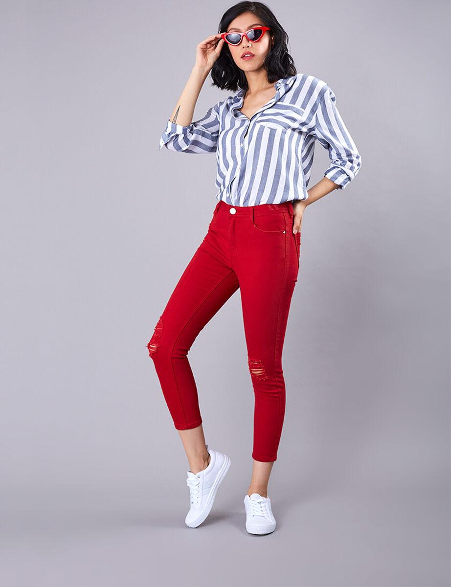 Jeans Indigo Fiorucci Color