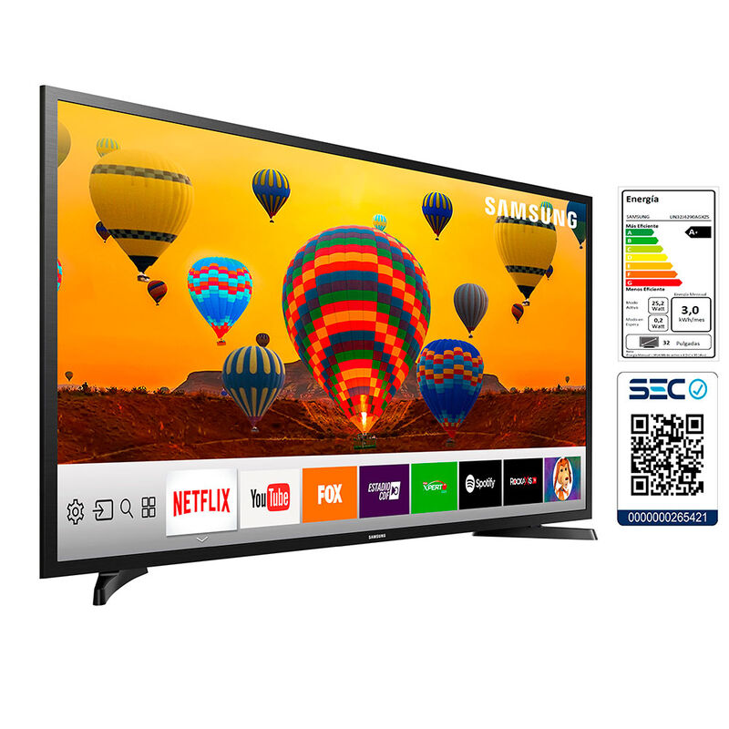 "LED 32"" Samsung UN32J4290AG Smart TV HD"
