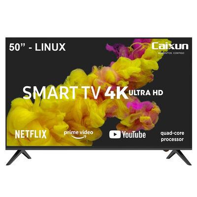 "LED 50"" Caixun CS50S1USM Smart TV UHD"