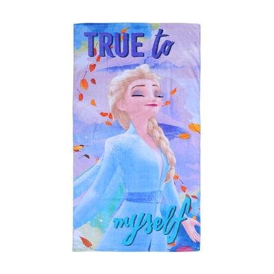 Toalla de Playa Disney Frozen Myself 70 x 40 cm