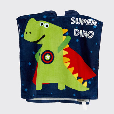 Toalla de Playa Casanova Kids Super Dino 60 x 120 cm