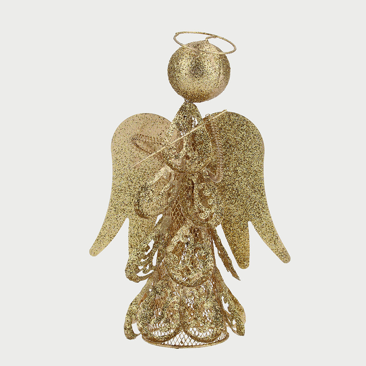 Angel Decorativo Dorado 25