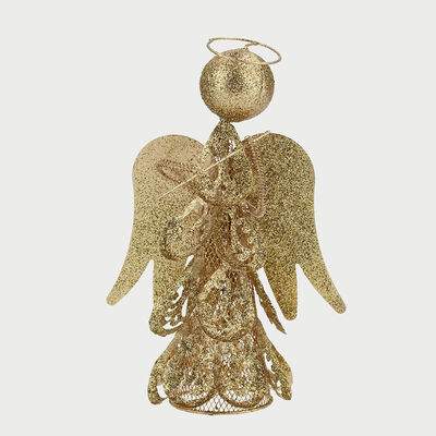 Angel Decorativo Dorado 25