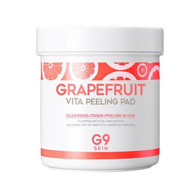 Almohadillas Exfoliantes Grapefruit Vita Peeling Pad G9Skin