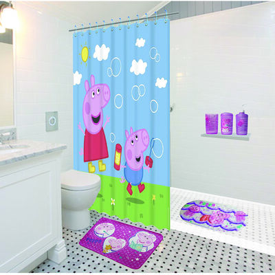 Conjunto de Baño 3 Piezas Peppa Pig y George
