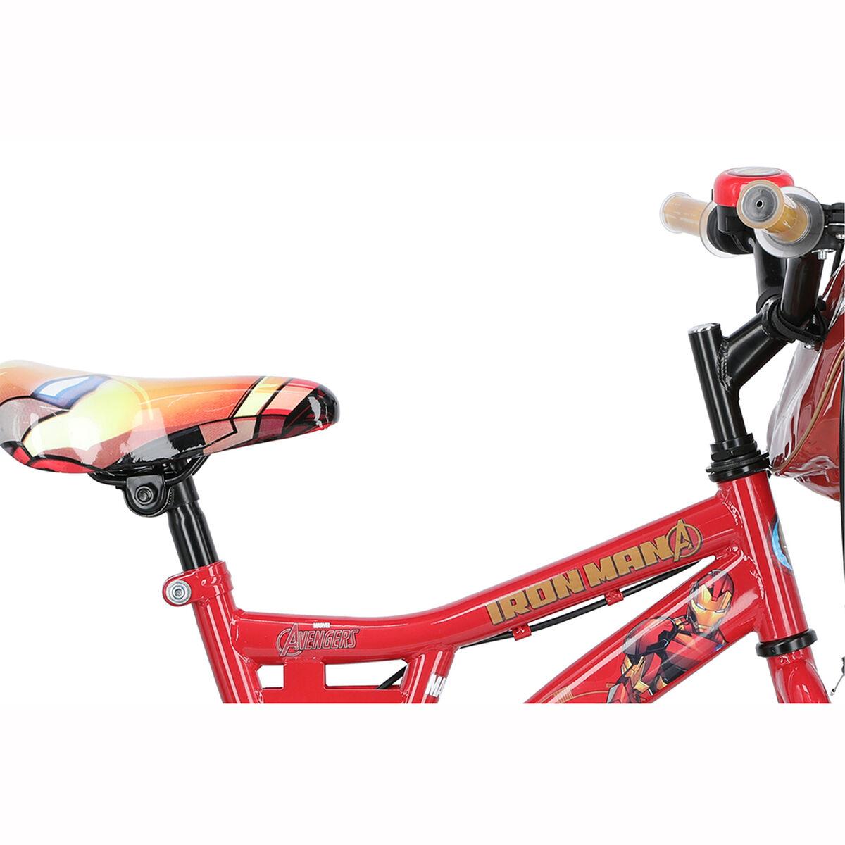 Bicicleta Niño Disney Iron Man Aro 16 Rojo