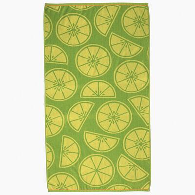 Toalla de Playa Jacquard Citrus 86 x 160 cm
