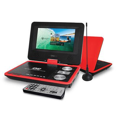 """DVD Portátil Microlab Player 4158 7"""" Rojo"""