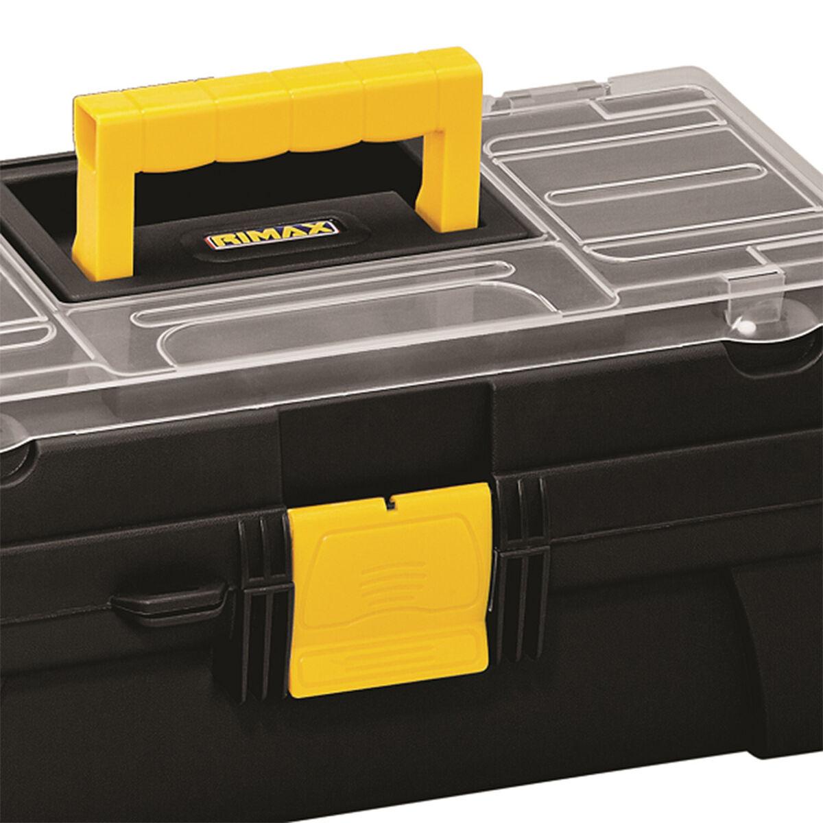 Caja de Herramientas Rimax RX3415 Con Tapa Organizadora