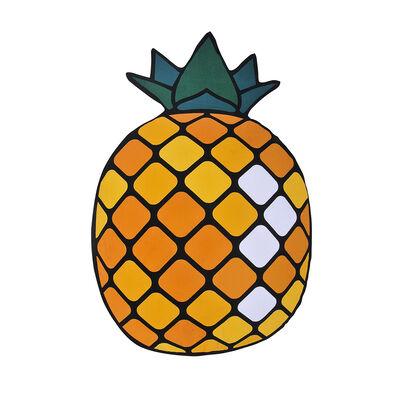 Toalla de Playa Microfibra C/Forma Pineapple 150X170 Cm