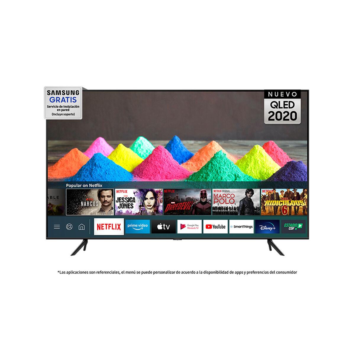 """QLED 55"""" Samsung Q60T Smart TV 4K Ultra HD 2020"""