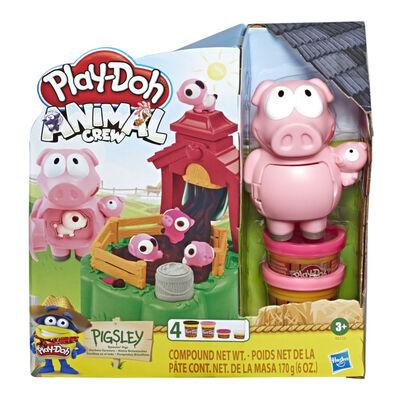 Play-Doh Animals Pigsley Cerditos En El Lodo