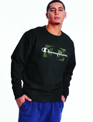 Polerón de Algodón Deportivo Hombre Champion