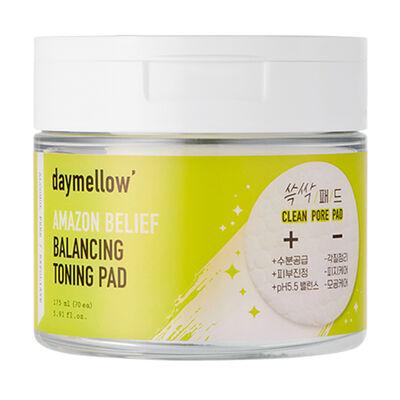 Tónico Hidratante en Almohadillas Amazon Belief Zero Balancing Toning Pad Daymellow