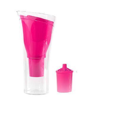 Jarro Purificador de Agua + 1 Repuesto de Filtro Dvigi Rosa
