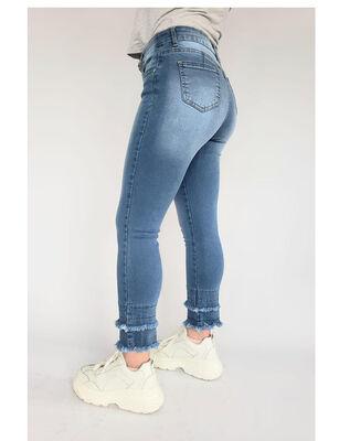 Jeans Crop Mujer Santissima Nena