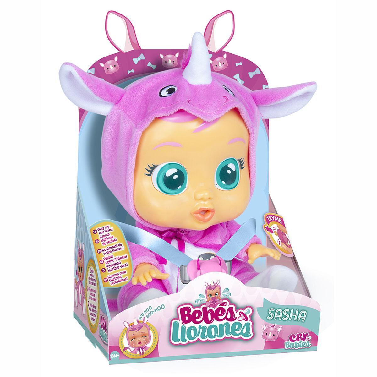 Muñeca Bebés Llorones Sasha