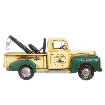 Adorno Metal Camion Amarillo