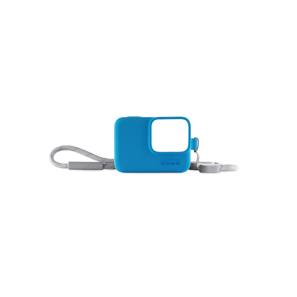 Funda de Silicona + Cordón Azul para GoPro HERO7