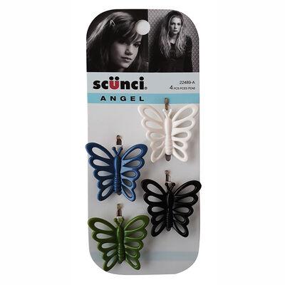 Horquillas Mariposas, 4 Piezas