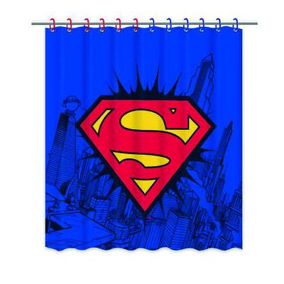 Cortina de Baño Superman Logo