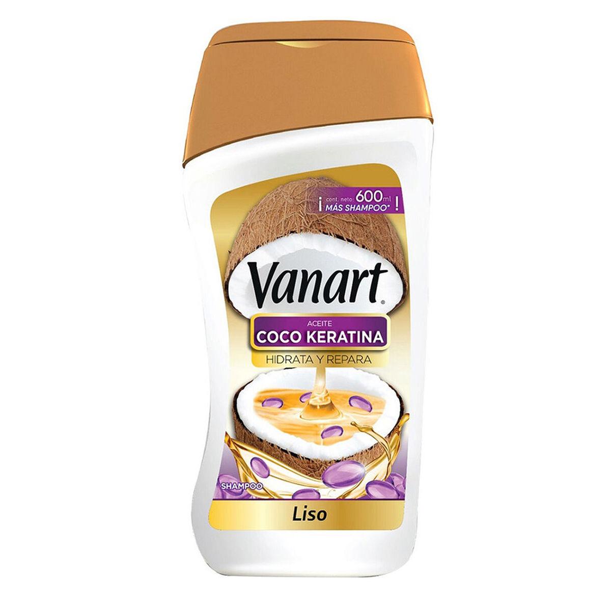 Pack Vanart Liso 2 Shampoo + 1 Acondicionador