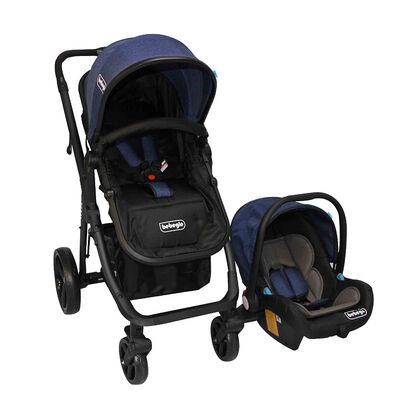 Coche Travel System Bebeglo Volta RS-13780-1 Azul