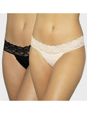 Pack 2 Calzones Colaless Mujer Triumph