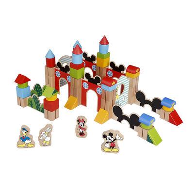 Blocks Mickey Castle Disney