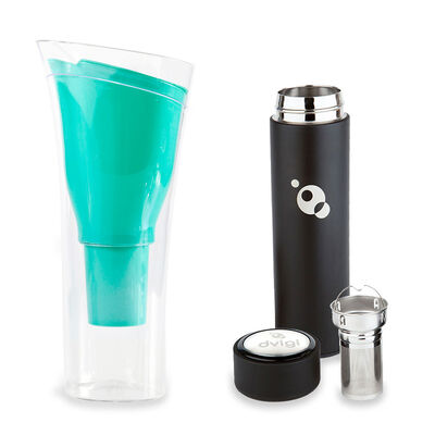 Jarro Purificador de Agua + Botella Magnum Dvigi Verde