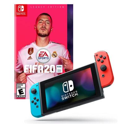 Nintendo Switch + Juego  Fifa 2020
