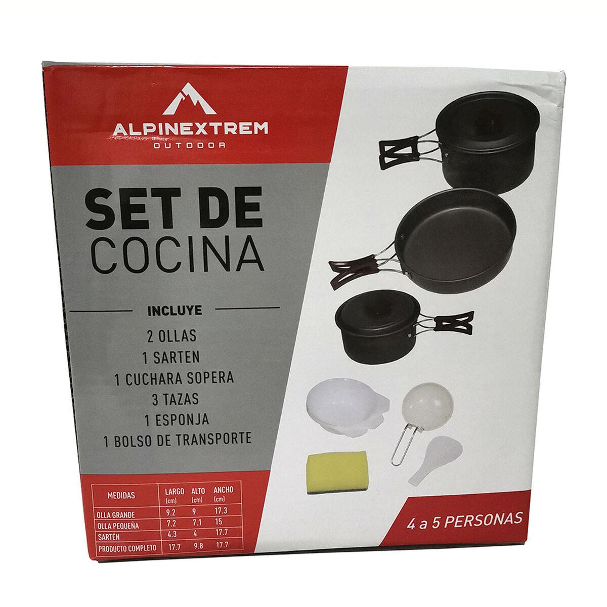 Set de Cocina Alpinextrem para 4 Personas