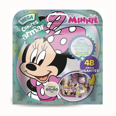 Puzzle Minnie Mega Colores