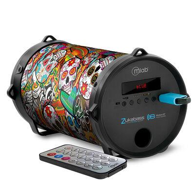 Karaoke Portátil Microlab Wireless Zukabass Color Style