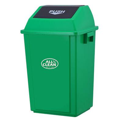 Basurero Allclean Verde 60 lt
